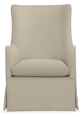 Ellery Custom Swivel Glider Chair