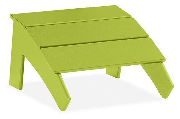 Fine Emmet Ottoman Customarchery Wood Chair Design Ideas Customarcherynet