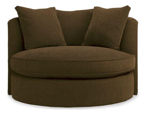 Eos Swivel Chair Modern Accent & Lounge Chairs Modern