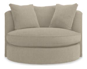 "Eos Custom 51"" Swivel Chair"