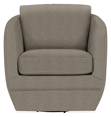 Ford Swivel Chair in Tatum Fabric - Modern Accent & Lounge Chairs ...