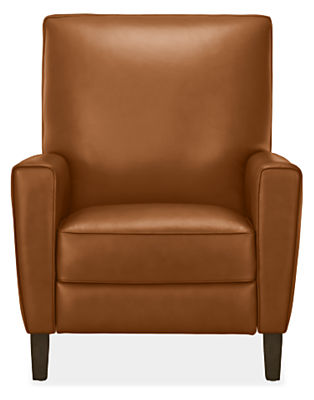 Harper Tall Back Recliner In Portofino Leather Modern Recliners Lounge Chairs Living Room Furniture Board