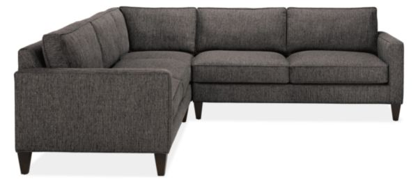 "Harrison 106x106"" Three-Piece Sectional"