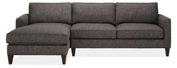 """Harrison Custom 104"""" Sofa with Left-Arm Chaise"""