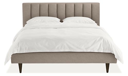 Hartley Upholstered Bed Modern Beds Platform Bedroom Furniture Room Board