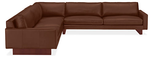 "Hess 124x124"" Three-Piece Sectional"