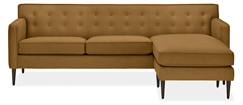 """Holmes 89"""" Sofa with Reversible Chaise"""
