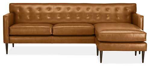 """Holmes 89"""" Sofa with Right-Arm Chaise"""