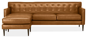 "Holmes 89"" Sofa with Left-Arm Chaise"