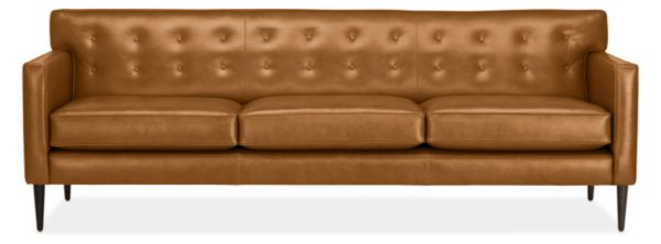 Holmes Leather Sofas - Mid-century Modern Sofas & Sectionals ...