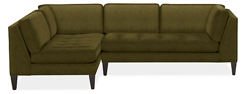 "Hutton 110"" Sofa with Left-Arm Chaise"