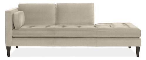"Hutton Custom 87"" Left-Back Sofa"