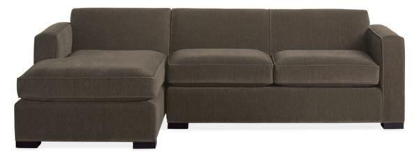 """Ian Custom 108"""" Sofa with Right-Arm Chaise"""