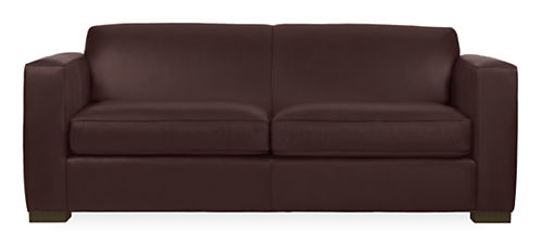 Ian Leather Guest Select Sleeper Sofa - Modern Sleeper Sofas ...