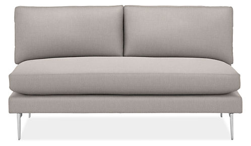 "Janus 64"" Armless Sofa"
