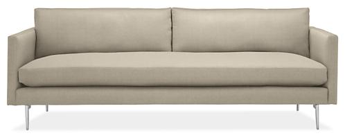 J Custom 94 Bench Cushion Sofa