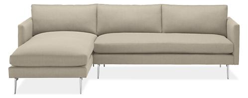 "Janus Custom 111"" Sofa with Left-Arm Chaise"
