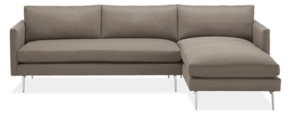 "Janus 111"" Sofa with Left-Arm Chaise"
