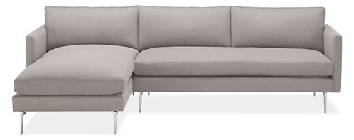 Janus Sofas with Chaise - Modern Chaise Sofas - Modern Living Room ...