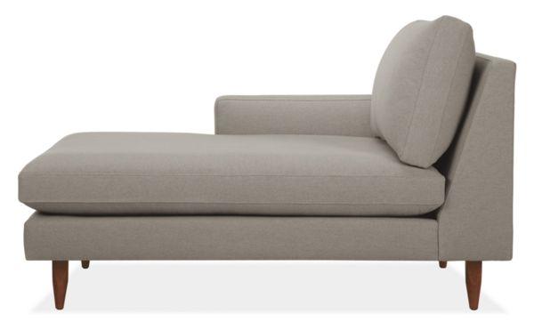 """Jasper Custom 31"""" Left-Arm Chaise"""