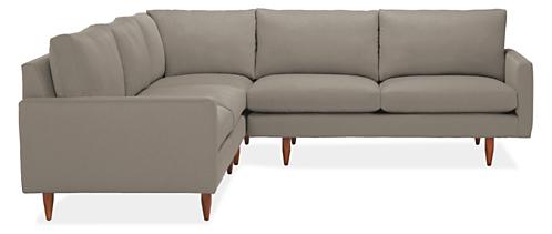 "Jasper Custom 103x103"" Three-Piece Sectional"