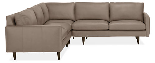 "Jasper 103x103"" Three-Piece Sectional"