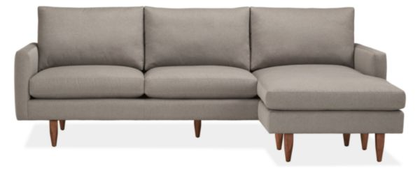 "Jasper Custom 96"" Sofa with Reversible Chaise"