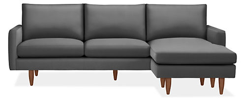 """Jasper 96"""" Sofa with Reversible Chaise"""