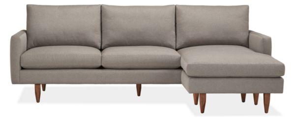 "Jasper Custom 96"" Sofa with Reversible Chaise"