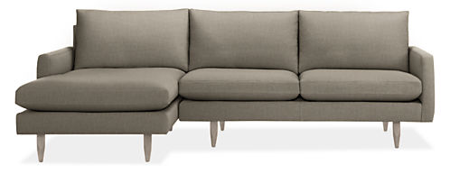 "Jasper Custom 104"" Sofa with Left-Arm Chaise"