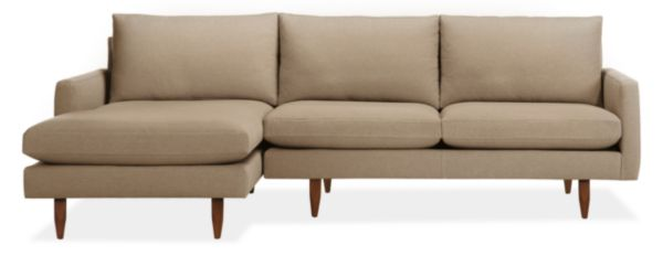 "Jasper 104"" Sofa with Left-Arm Chaise"