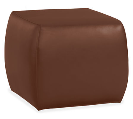 Lind Modern Leather Ottomans - Modern Ottomans & Footstools ...