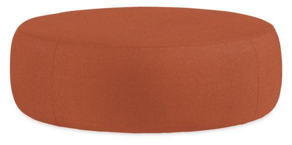 Lind Custom 42 diam 16h Round Ottoman