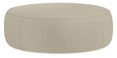 Lind Custom Round Ottoman Ottomans And Footstools From Room Board Modern Living Furniture
