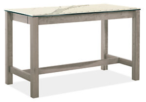 Linden 60w 30d 36h Two-Drawer Counter Table
