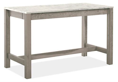 Linden Counter Tables With Drawers