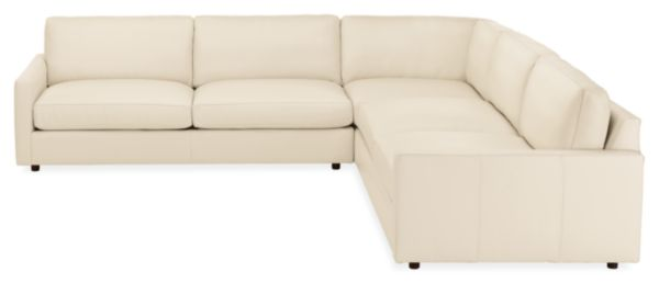 """Linger 119x119"""" Three-Piece Sectional"""