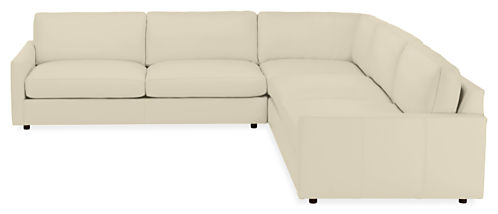 "Linger 119x119"" Three-Piece Sectional"