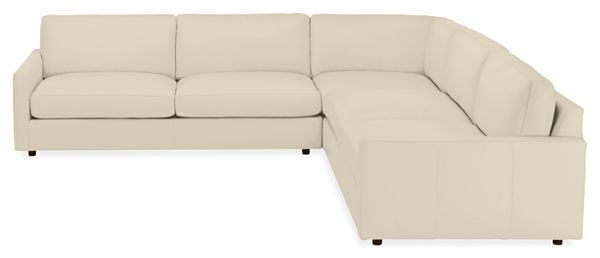 Sensational Linger Leather Sectionals Uwap Interior Chair Design Uwaporg