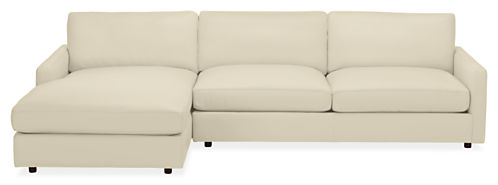 "Linger 116"" Sofa with Left-Arm Chaise"