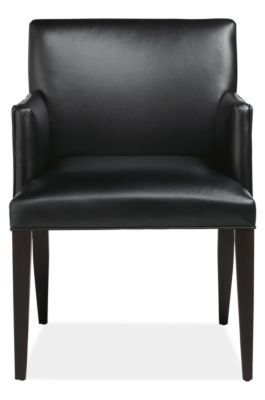 marie leather dining chairs - modern dining chairs - modern dining
