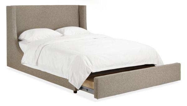 Marlo Custom Queen Storage Bed