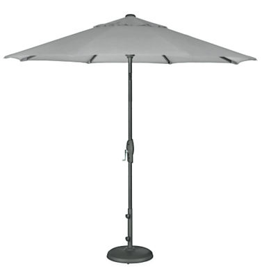 Oahu 9' Round Patio Umbrella with Base