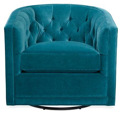 Maurice Custom Swivel Chair