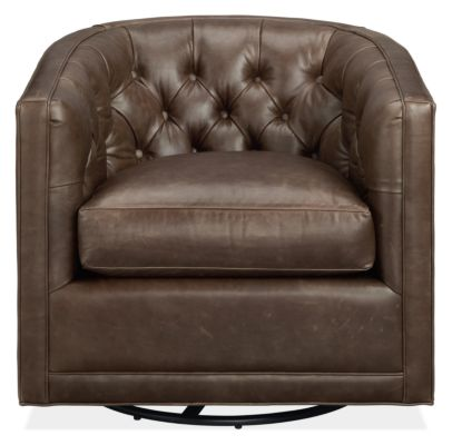 Maurice Custom Swivel Chair