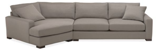 """Mayer Custom 149"""" Sofa with Right-Arm Angled Chaise"""