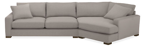"""Mayer 149"""" Sofa with Right-Arm Angled Chaise"""