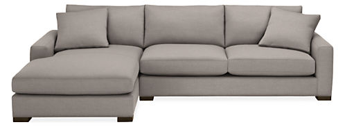 "Mayer 124"" Sofa with Left-Arm Chaise"