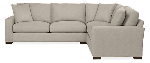 "Metro 113x113"" Three-Piece Sectional"