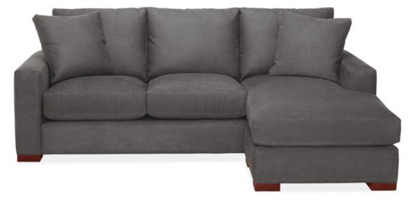 "Metro Custom 88"" Sofa with Reversible Chaise"